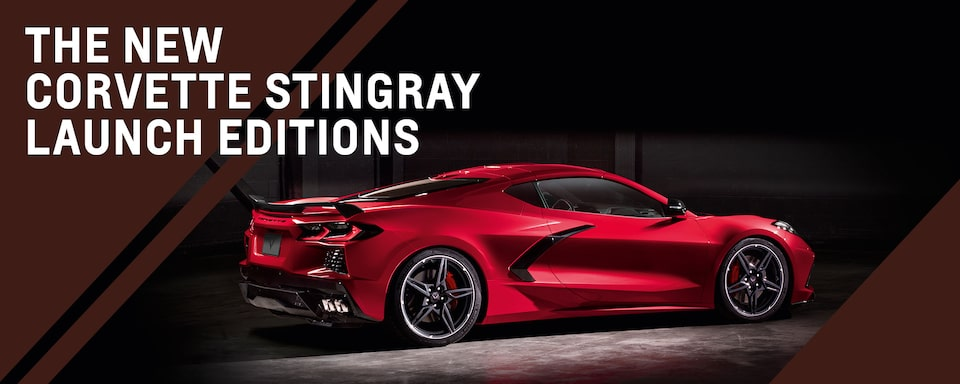 Corvette Stingray Launch Edition