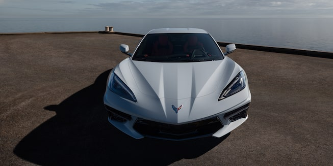 2020 Chevrolet Corvette Sports Car: hood