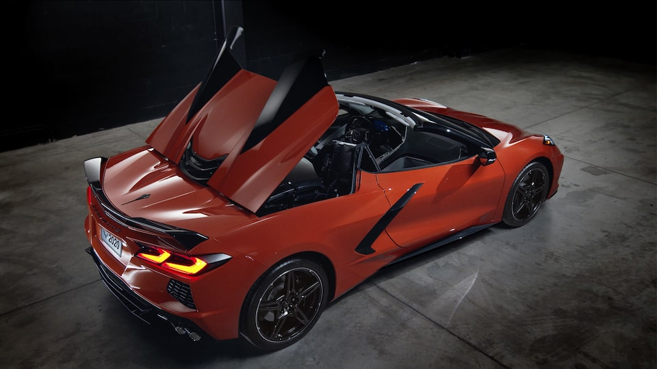 2020 Chevrolet Corvette Mid-Engine Sports Convertible