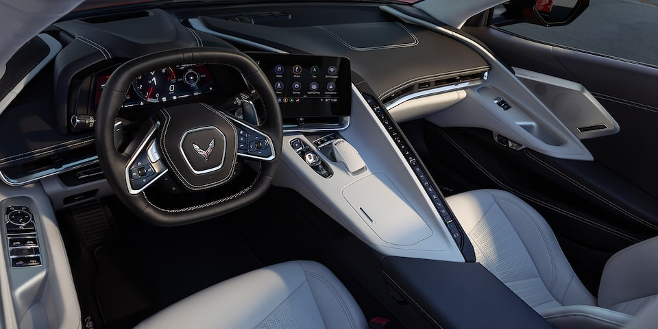2020 Chevrolet Corvette: Interior Design
